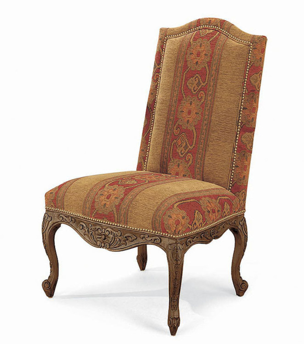 Century Furniture - High Back Side Chair