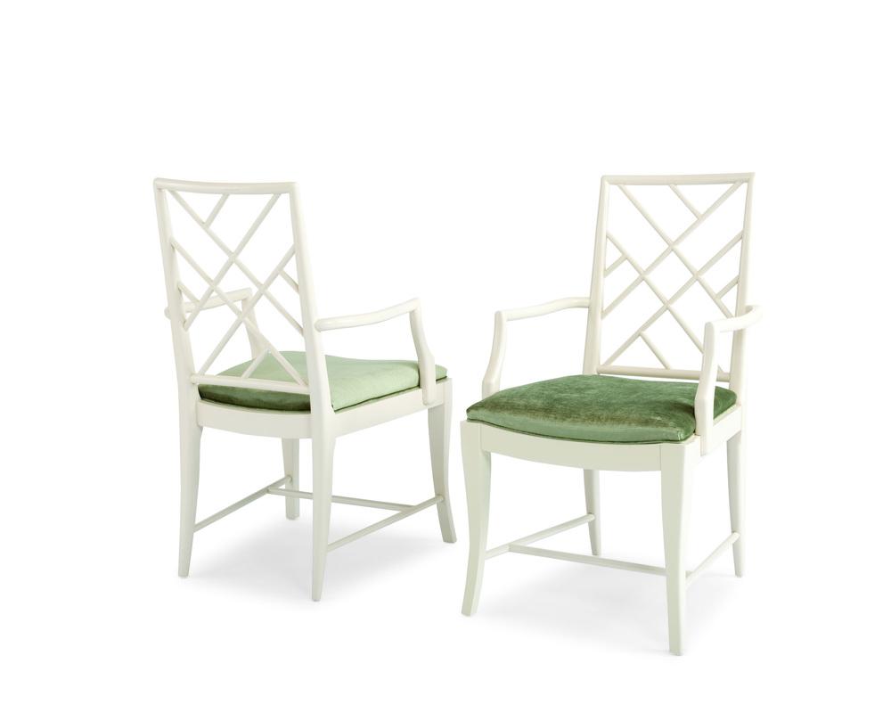 Century Furniture - Crossback Arm Chair
