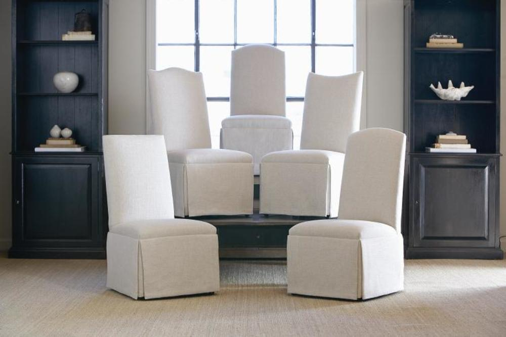 Century Furniture - Hollister Straight Back/Scoop Top Chair