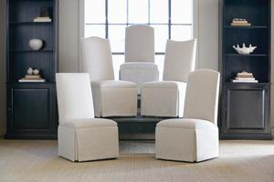 Thumbnail of CENTURY FURNITURE - Hollister Straight Back/Camelback Top Chair