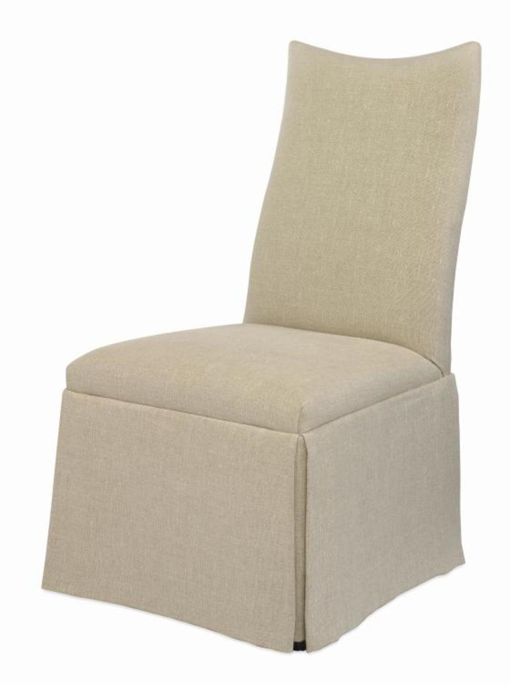 CENTURY FURNITURE - Chandler Curved Back with Scoop Top Chair