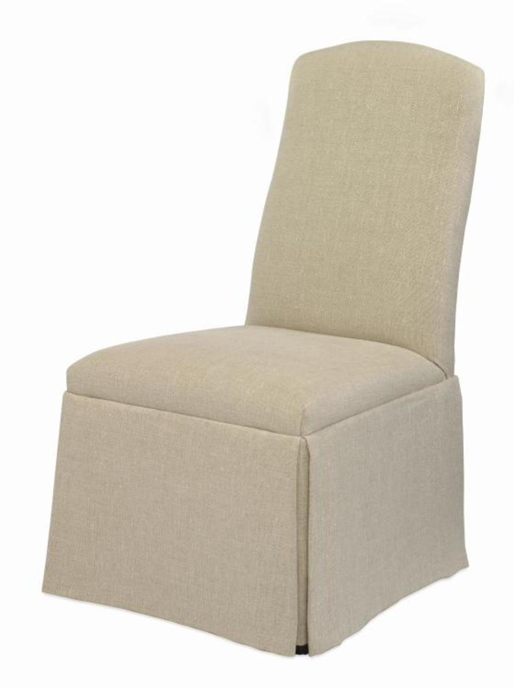 Century Furniture - Chandler Curved Back w/ Sweep Top Chair