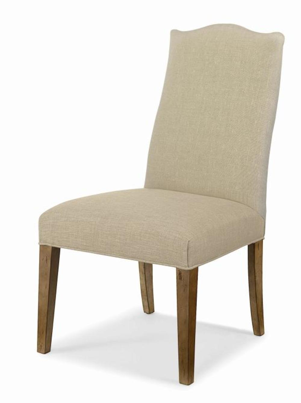 Century Furniture - Chandler Curved Back Exposed Wood w/ Camelback Top