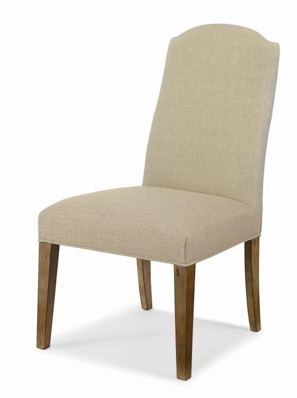 CENTURY FURNITURE - Chandler Curved Back Exposed Wood with Arch Top