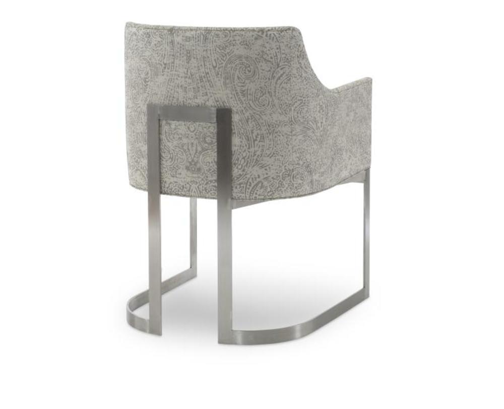 Century Furniture - Copenhagen Stainless Arm Chair