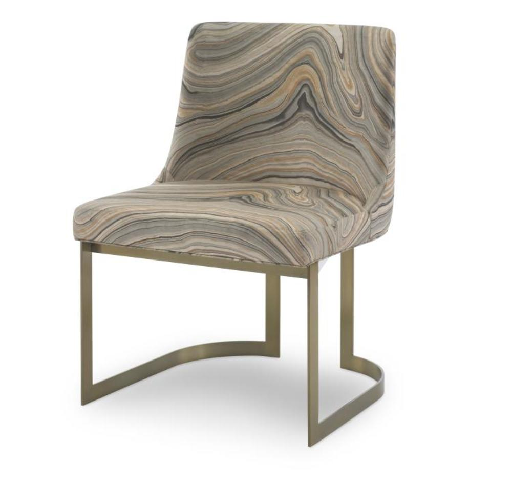 Century Furniture - Copenhagen Brass Side Chair