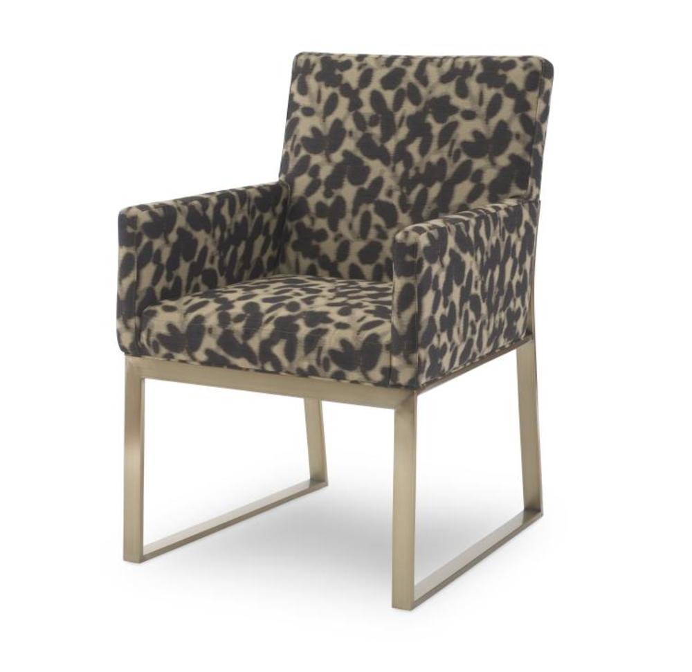 Century Furniture - Iris Brass Arm Chair