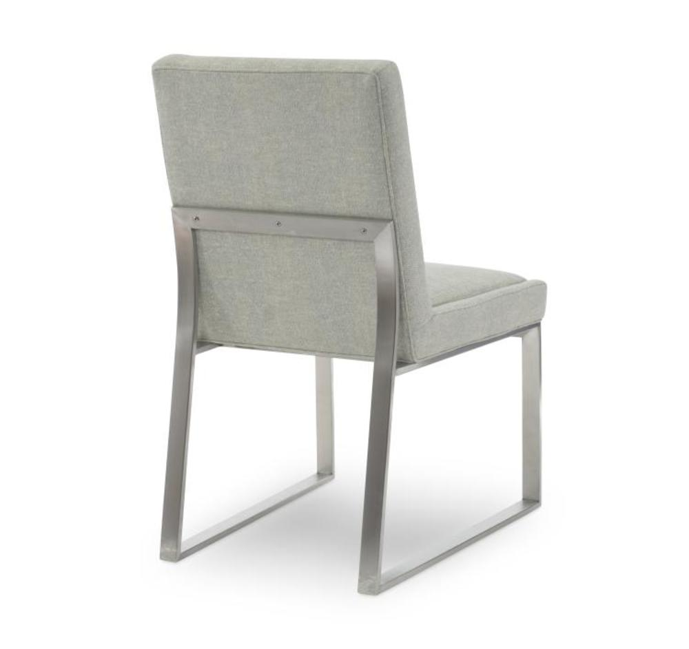 Century Furniture - Iris Stainless Side Chair