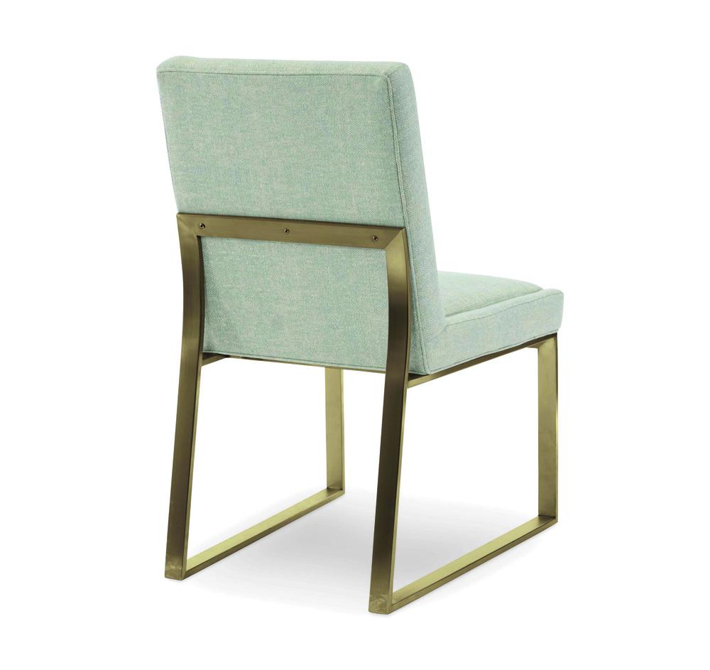 Century Furniture - Iris Brass Side Chair