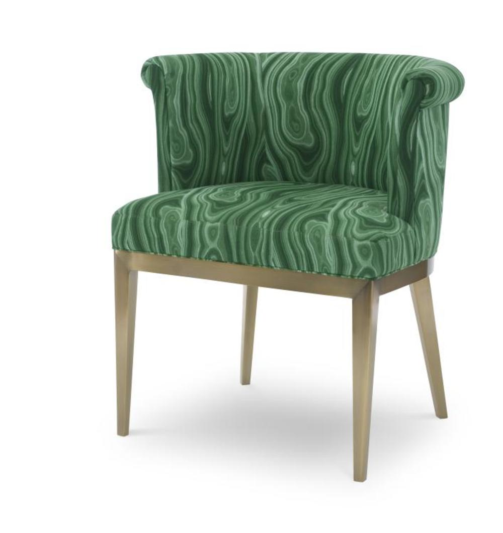 Century Furniture - Camille Brass Arm Chair