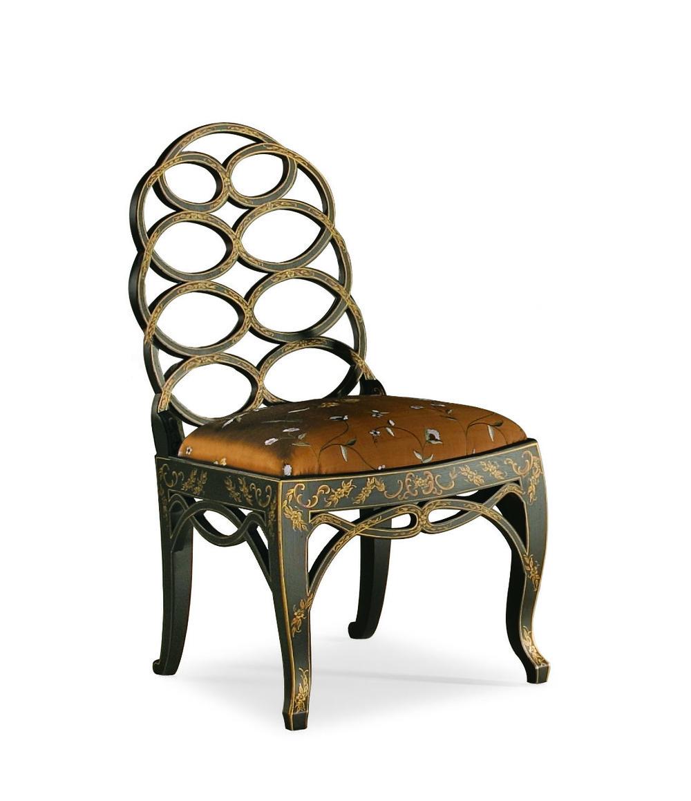 Century Furniture - Hoop Back Side Chair