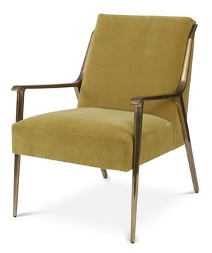 Thumbnail of Century Furniture - Zola Metal Lounge Chair