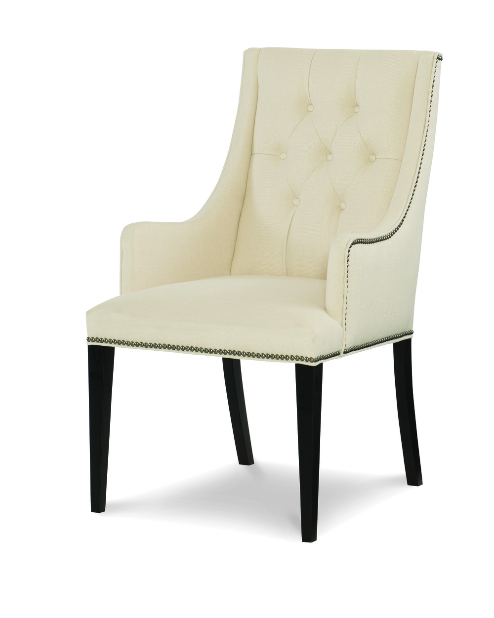 Century Furniture - Claire Tufted Arm Chair