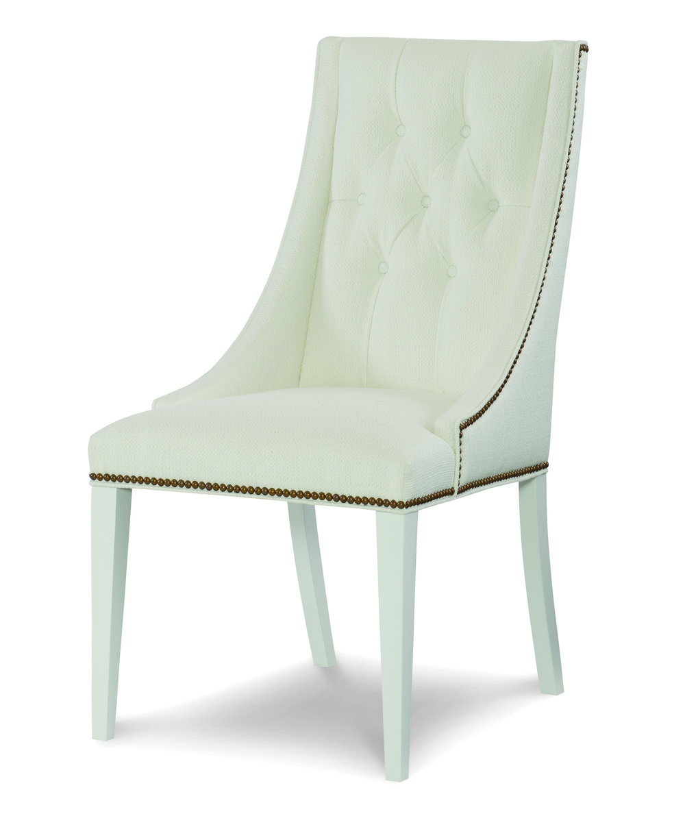 Century Furniture - Claire Tufted Side Chair