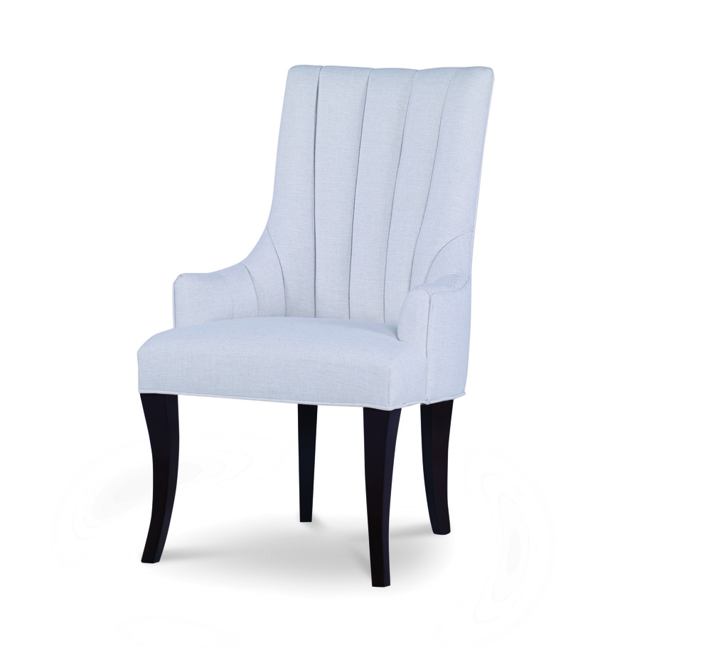 Century Furniture - Becca Channeled Arm Chair