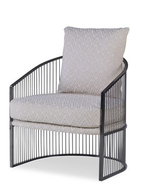 Thumbnail of Century Furniture - Ruffalo Black Nickel Chair