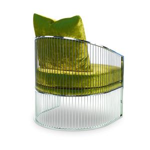 Thumbnail of Century Furniture - Ruffalo Metal Barrel Chair