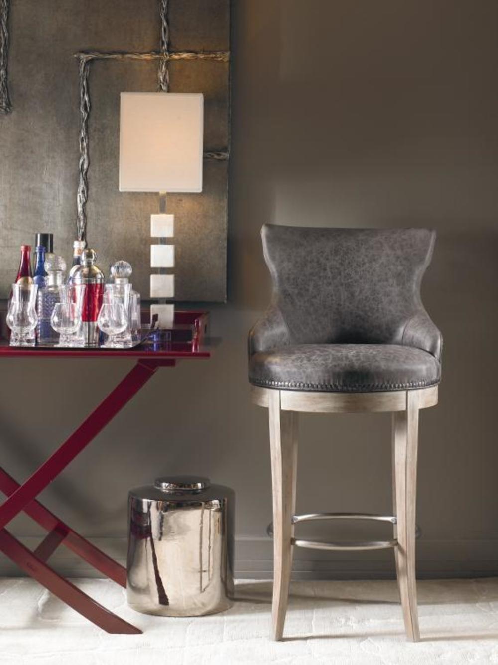 Century Furniture - Tracy Swivel Bar Stool
