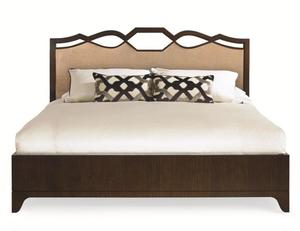 Thumbnail of Century Furniture - Paragon Club Ogee Bed with Upholstered Headboard