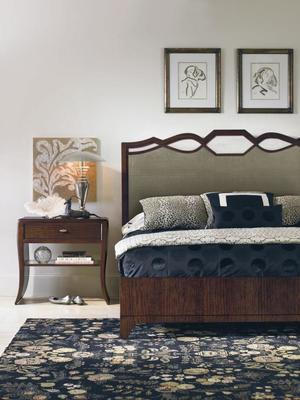 Thumbnail of Century Furniture - Paragon Club Waterfall Nightstand