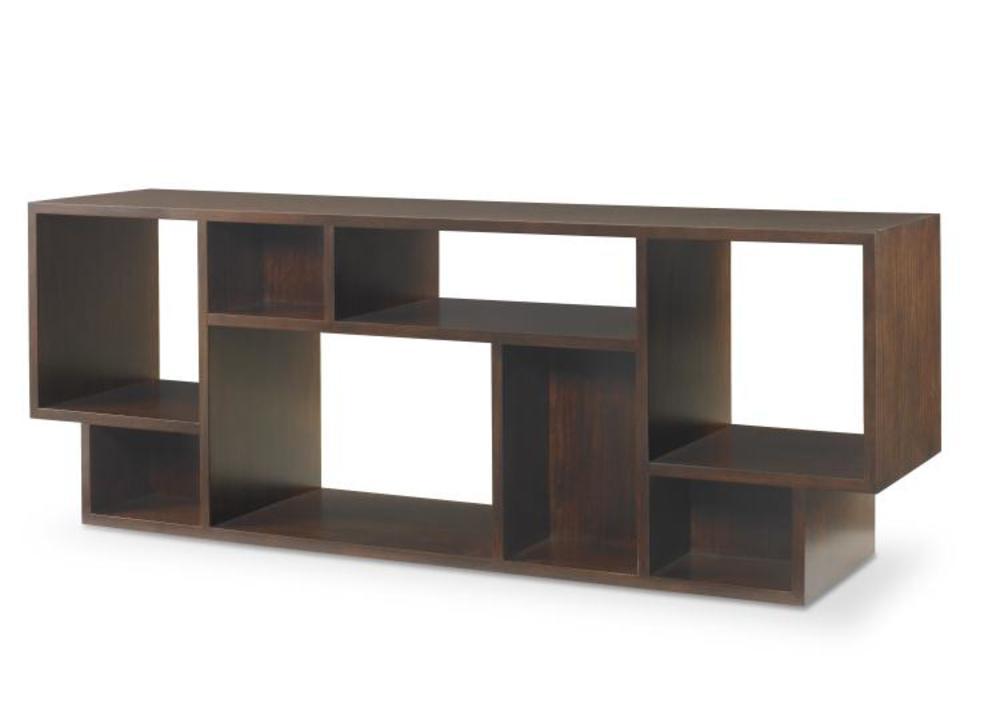 Century Furniture - Paragon Club Geometric Entertainment Bookcase
