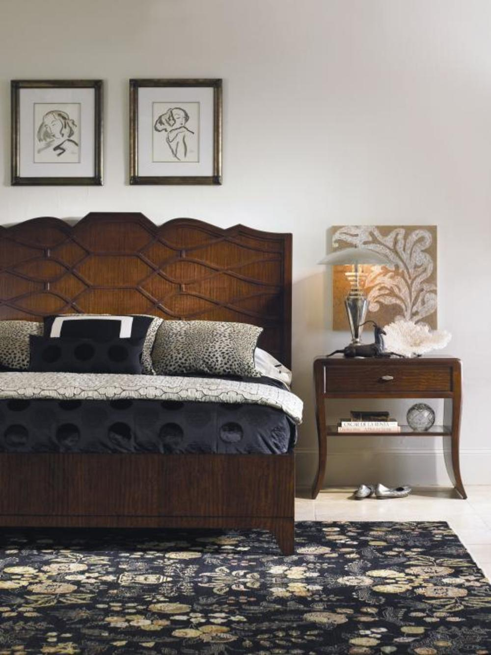 Century Furniture - Paragon Club Guimand Bed, King