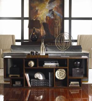 Thumbnail of Century Furniture - Paragon Club Geometric Entertainment Bookcase
