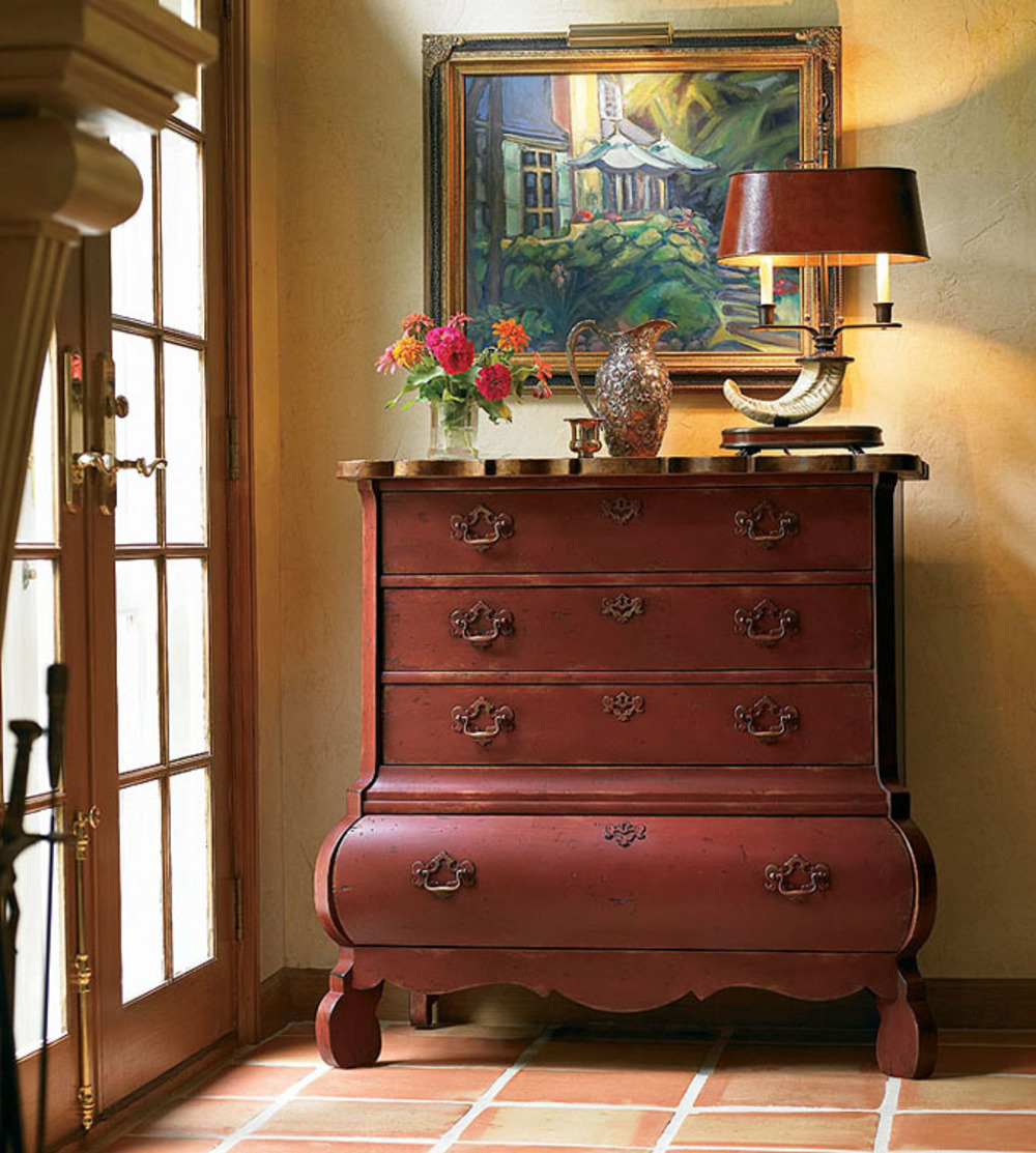 Century Furniture - Town & Country Swell Chest