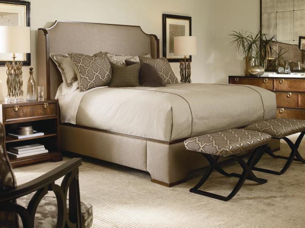 Century Furniture - Bridgeton Upholstered Bed