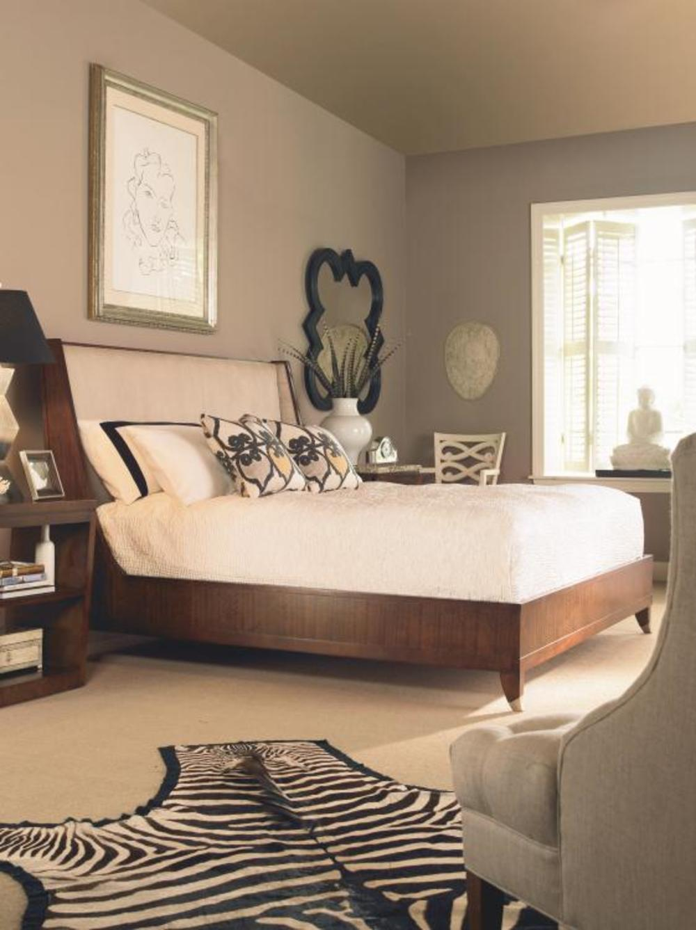 Century Furniture - Omni Bed with Upholstered Headboard, King