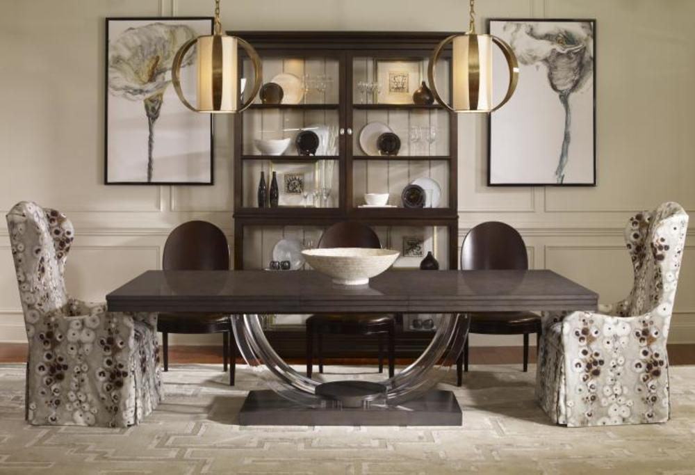 Century Furniture - Omni Dining Table with Acrylic Legs