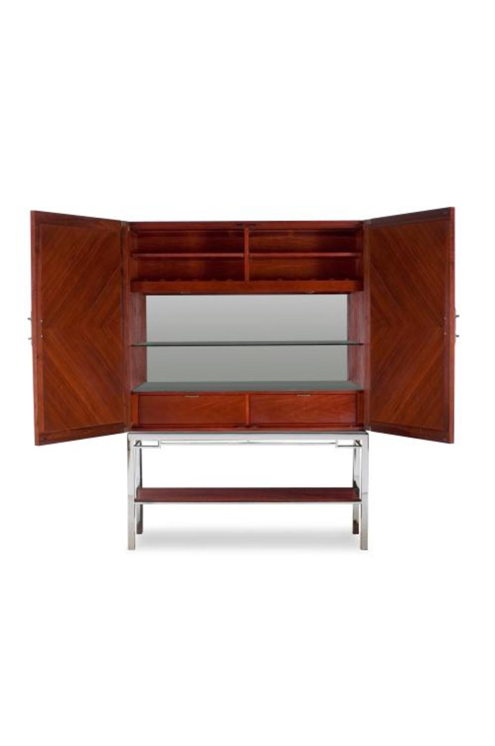 Century Furniture - Chin Hua Lotus Bar Cabinet