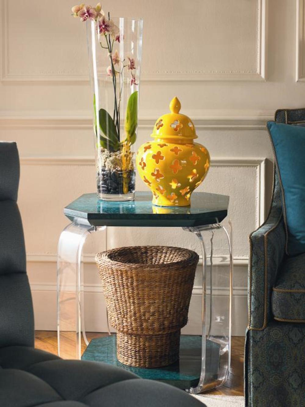 Century Furniture - Chin Hua Dabu Chairside Table