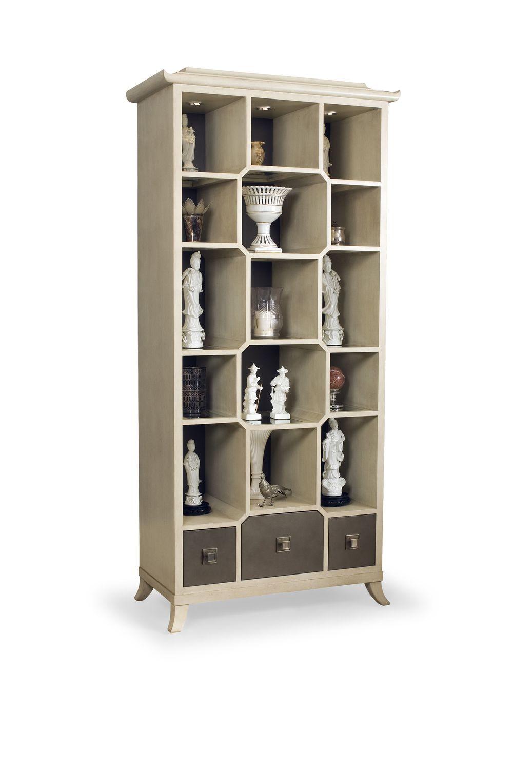 Century Furniture - Chin Hua Peking Open Display Cabinet