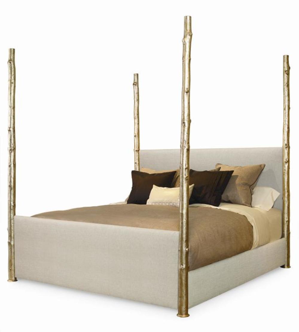 Century Furniture - Artefact Wildwood Upholstered Poster Bed