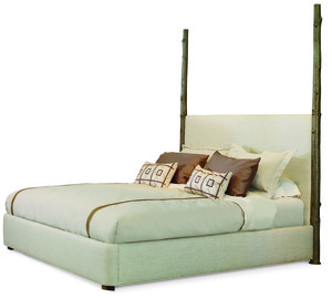 Thumbnail of Century Furniture - Artefact Wildwood Upholstered Bed with Headposts
