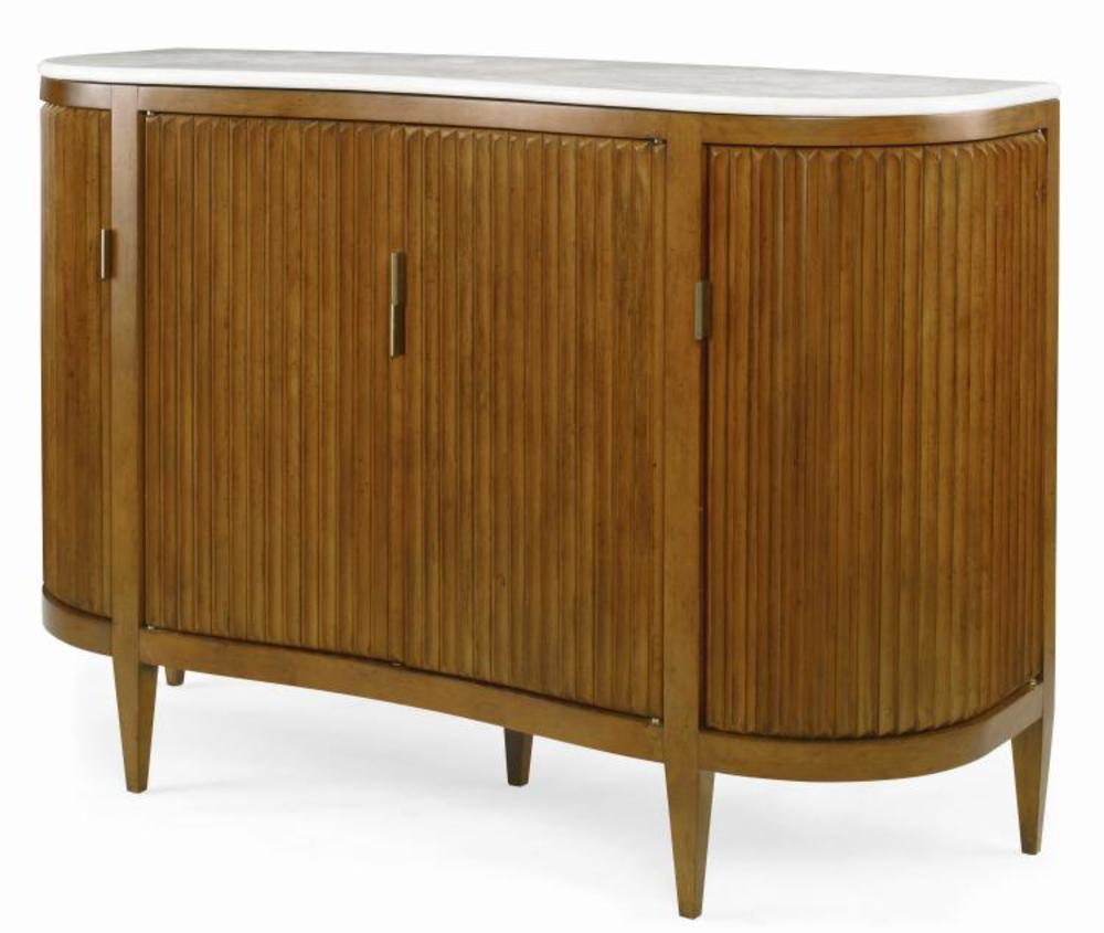 Century Furniture - Artefact Facets Cabinet w/ Stone Top