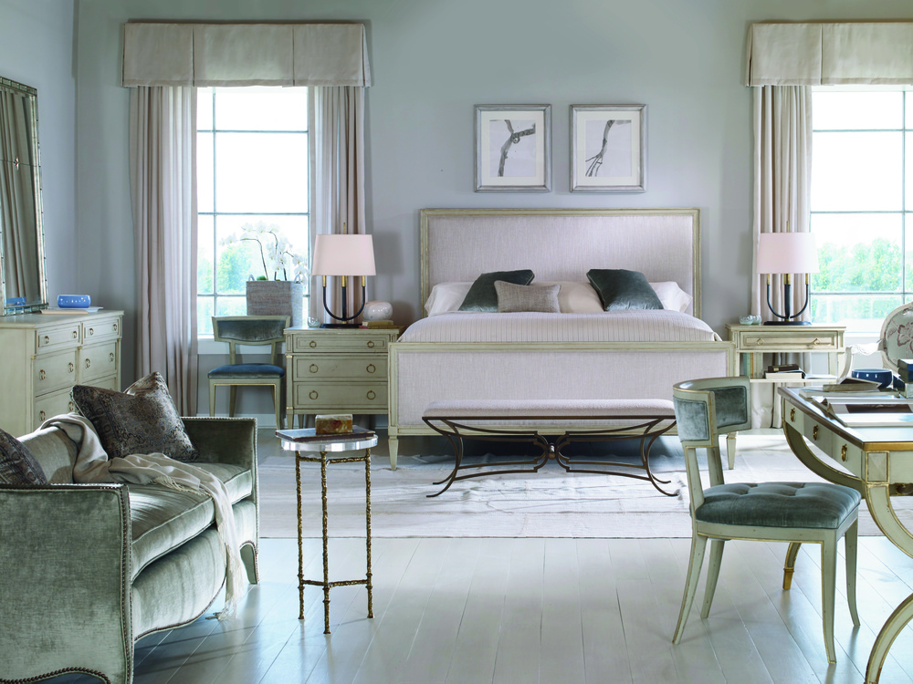 Century Furniture - Maison '47 Upholstered Panel Bed