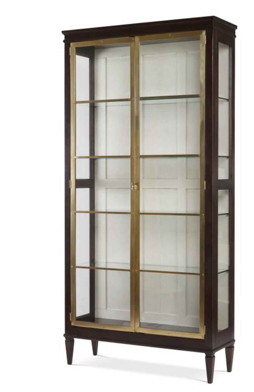 Century Furniture - Maison '47 Brass Front Curio