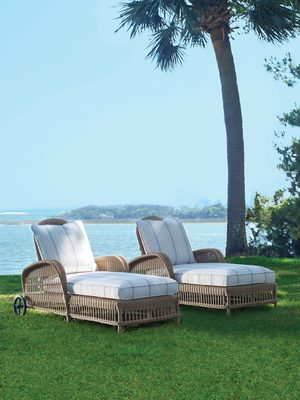Thumbnail of Century Furniture - Mainland Wicker Articulating Chaise