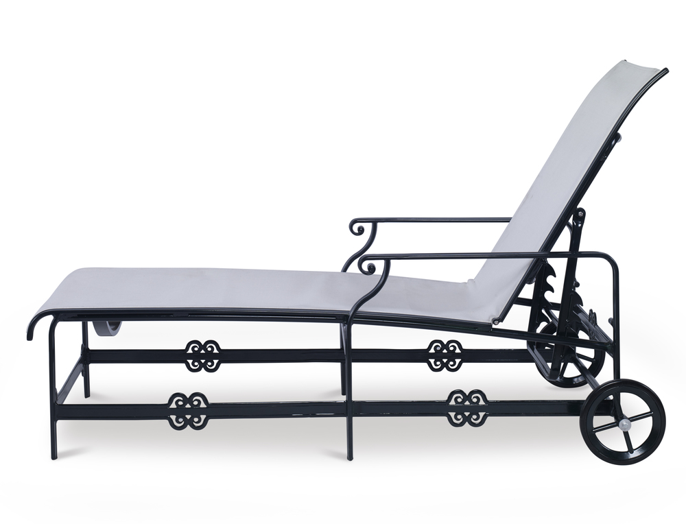 Century Furniture - Augustine Metal Articulating Sling Chaise
