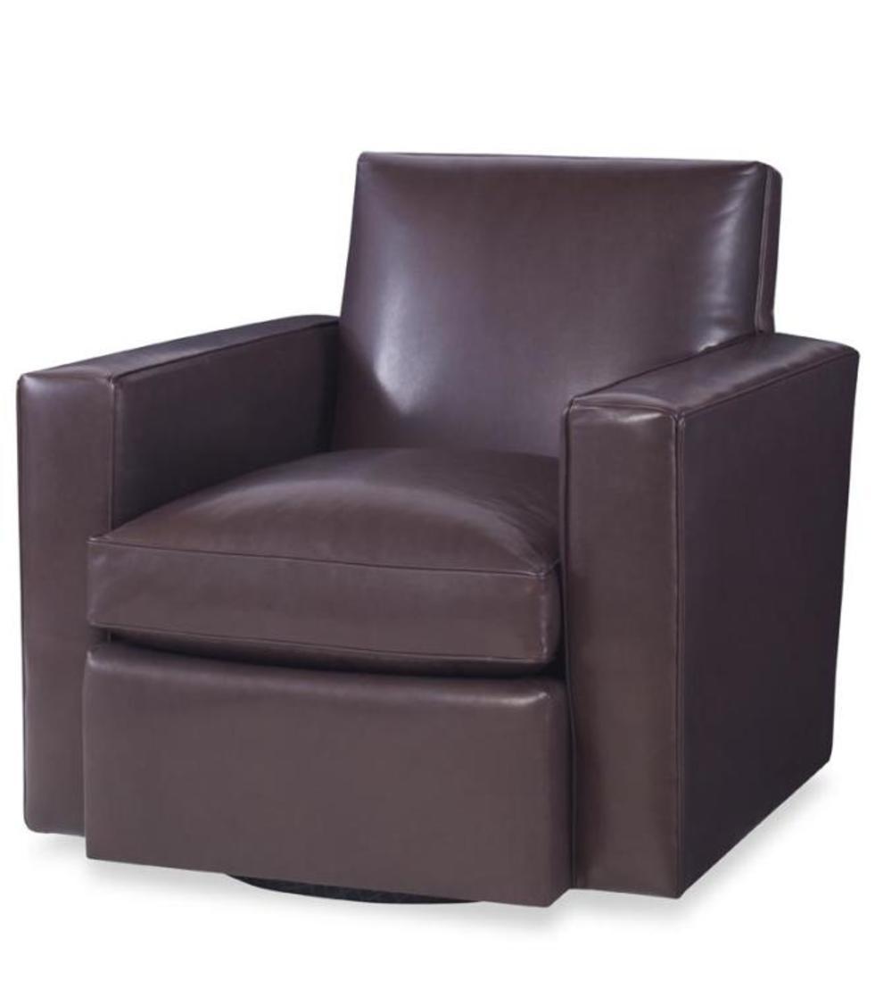 Century Furniture - Modern Swivel Club Chair