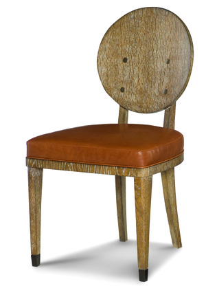 Thumbnail of Century Furniture - Keira Chair with Wood Back