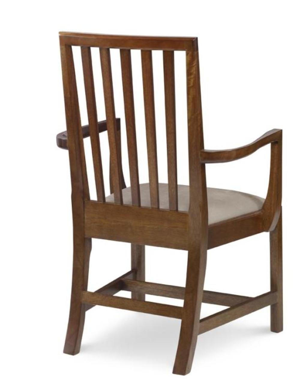 CENTURY FURNITURE - Emmett Slat Back Arm Chair