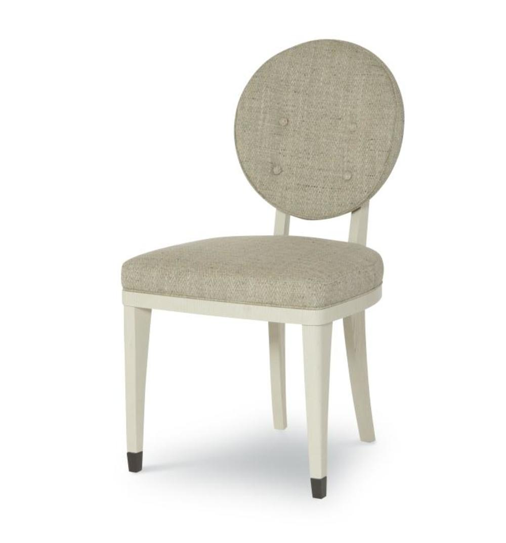 CENTURY FURNITURE - Keira Chair with Upholstered Back