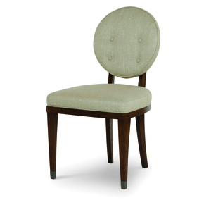 Thumbnail of CENTURY FURNITURE - Keira Chair with Upholstered Back
