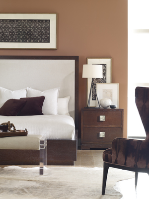 Thumbnail of Century Furniture - Corso Bed with Upholstered Headboard