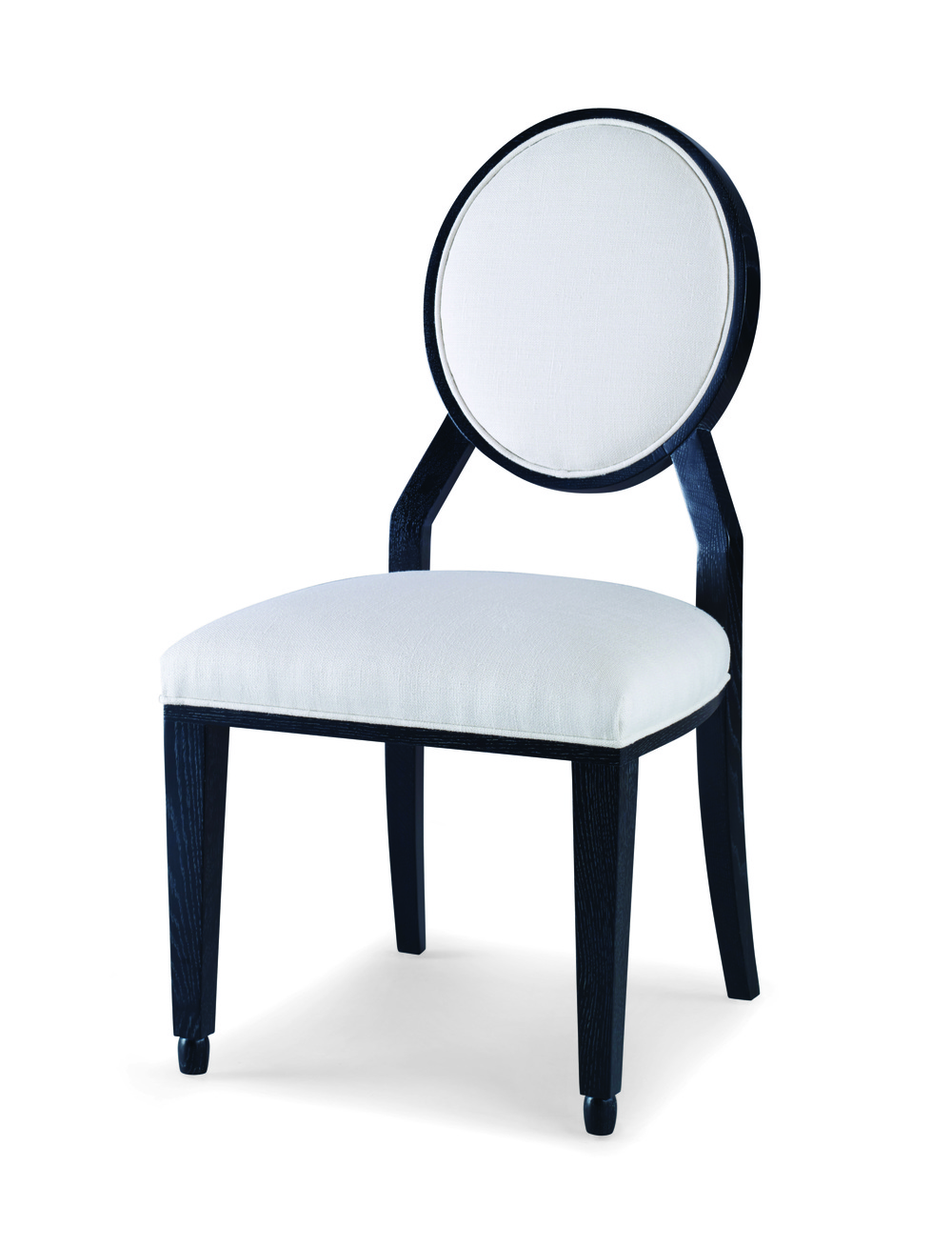 Century Furniture - Corso Round Back Side Chair