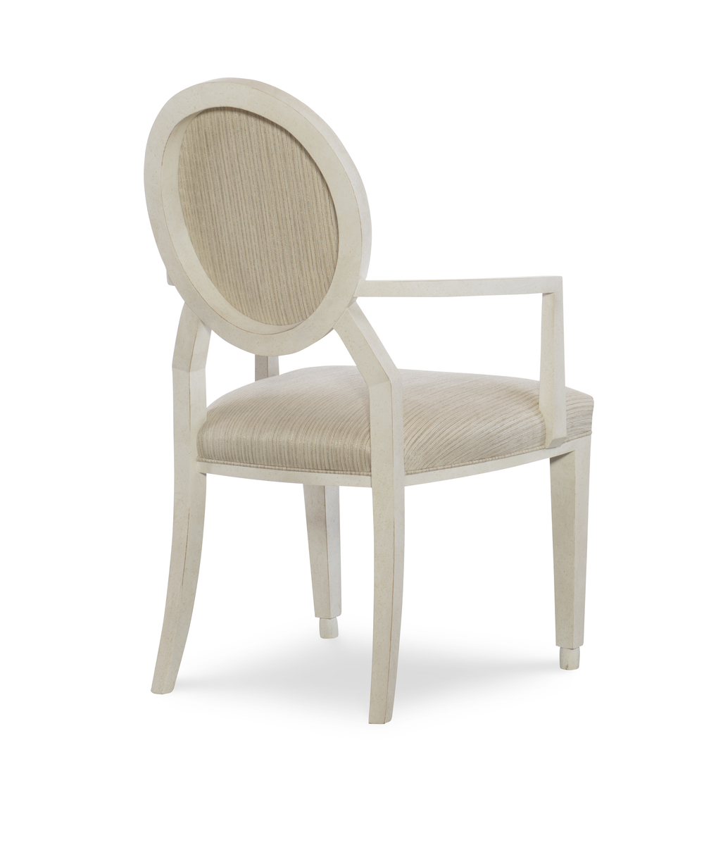 Century Furniture - Corso Round Back Arm Chair