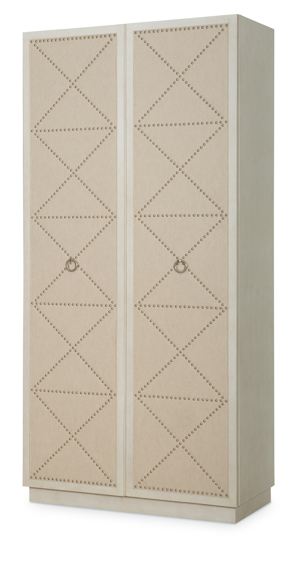 Century Furniture - Corso Tall Cabinet w/ Upholstered Doors